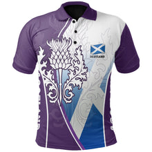 Load image into Gallery viewer, Scotland Polo Thistle Mix Flag