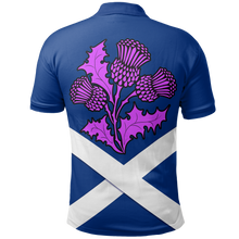 Load image into Gallery viewer, Scotland Polo Shirt - Scottish Lion