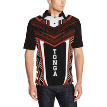 Load image into Gallery viewer, Tonga New Polynesian Style Polo - Red Color - For Man
