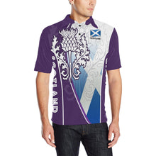 Load image into Gallery viewer, Scotland Polo Thistle Mix Flag Th5