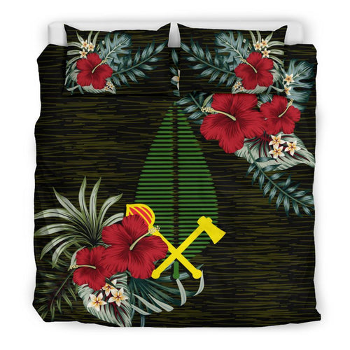 (Alo) Wallis and Futuna Bedding Set - Special Hibiscus | Duvet Cover | Home Set