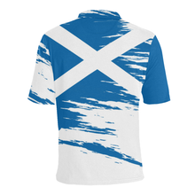 Load image into Gallery viewer, Scotland Polo Shirt - Scottish Flag A7