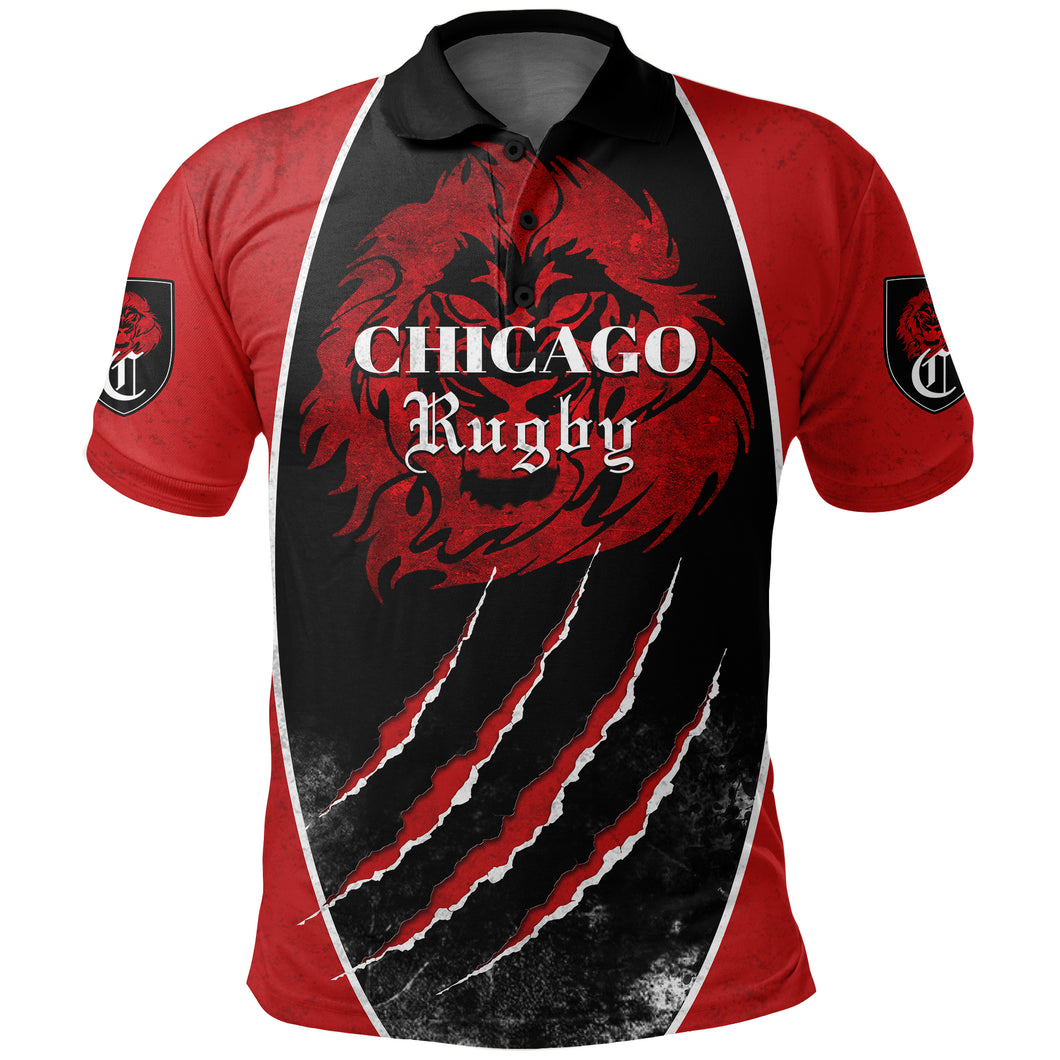 Chicago Rugby Polo Shirt K5