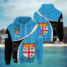 Load image into Gallery viewer, Fiji Masi Rugby Hoodie K5