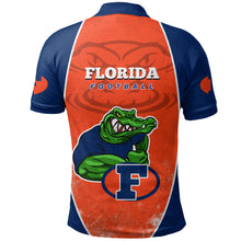 Load image into Gallery viewer, Florida Football Polo Shirt Gator K5