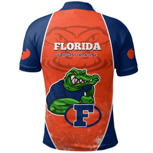 Florida Football Polo Shirt Gator K5