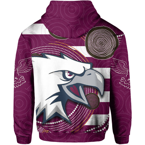 Sea Eagles Hoodie Aboriginal TH4