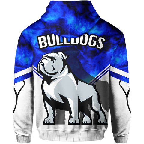 Bulldogs All Over Hoodie TH4