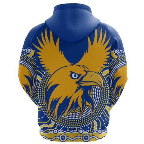 Eagles Hoodie West Coast Mix Indigenous Back | Rugbylife.co