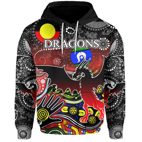 Color Dragons Hoodie Naidoc Week Front | Rugbylife.co