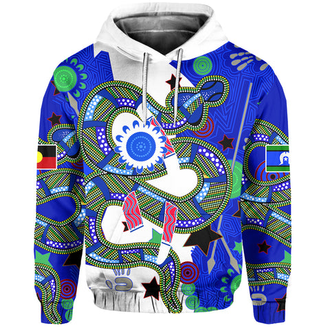 Eels Naidoc Week Color Hoodie Front | Rugbylife.co