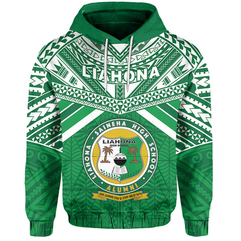 Happy Anniversary Liahona Hoodie Tonga High School Front | Rugbylife.co