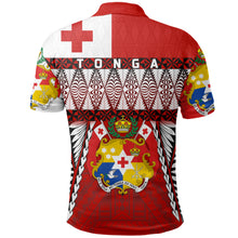 Load image into Gallery viewer, Tonga Polo Shirt - Mate Ma'a Tonga - Rugby Style TH5