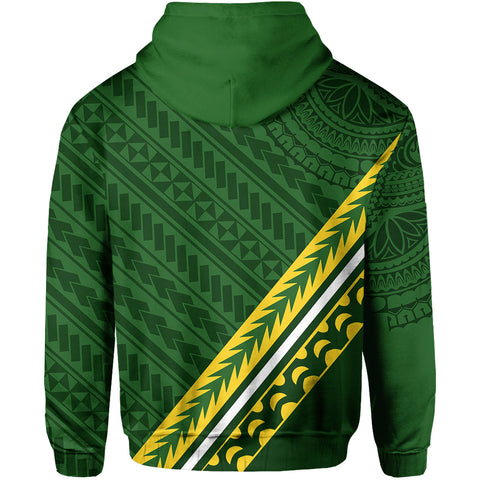 Cook Islands Rugby With Polynesian Hoodie TH4