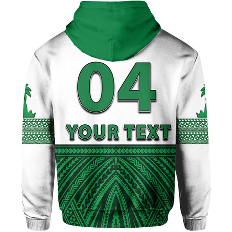 Image of (Custom Personalised)Tonga Liahona High School Hoodie Polynesian Style TH4