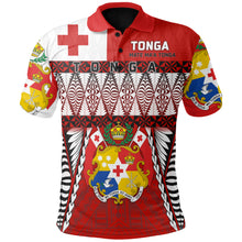 Load image into Gallery viewer, Tonga Polo Shirt - Mate Ma'a Tonga - Rugby Style