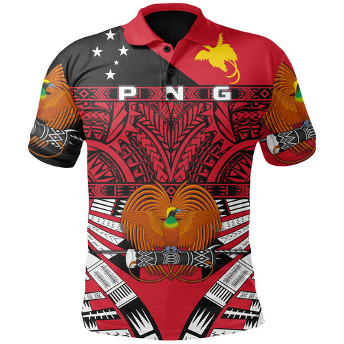 Kumuls - Papua New Guinea Polo Shirt Rugby