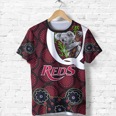 Queensland T-Shirt Reds Rugby - Koala