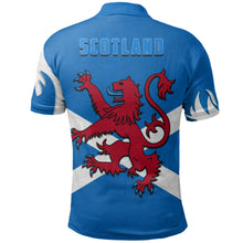 Load image into Gallery viewer, Scotland Polo Shirt Scottish Lion - Lion Hair Style TH5