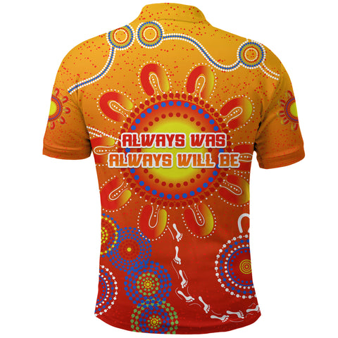 Image of Naidoc Suns Polo Shirt Gold Coast Indigenous Style K36