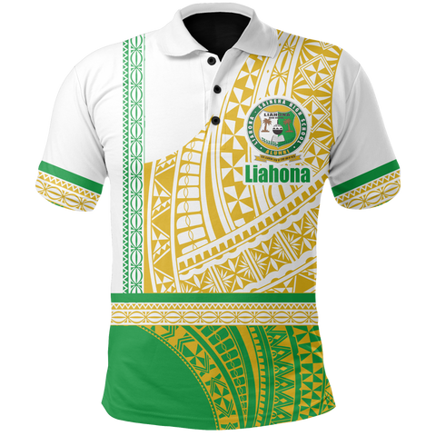 Image of (Custom) Liahona Tonga Polo Shirt Polynesian Traditional Style | Rugbylife.co