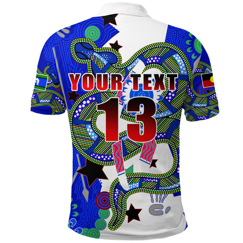 Image of (Custom Personalised) Naidoc Week Color Polo Shirt K13
