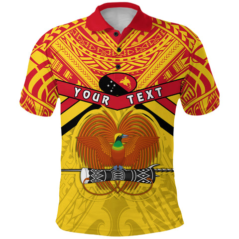 (Custom Personalised) Papua New Guinea Rugby Polo Shirt PNG - The Kumuls Front | Rugbylife.co