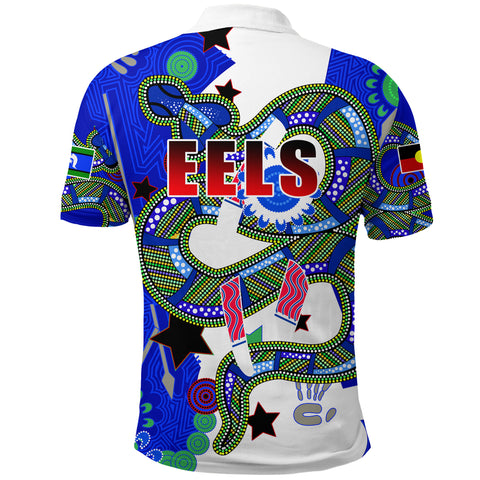 Image of Eels Naidoc Week Color Polo Shirt K13