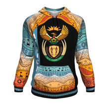 Load image into Gallery viewer, Coat of Arms South Africa All Over Hoodie