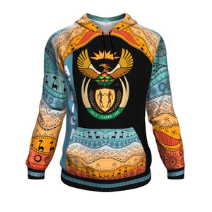 Coat of Arms South Africa All Over Hoodie