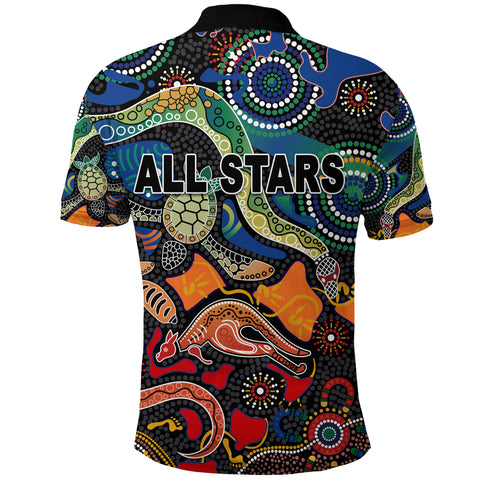 Indigenous Polo Shirt All Stars Pride Version K8