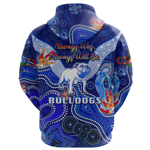 (Custom Personalised) Canterbury-Bankstown Bulldogs Hoodie Naidoc Heal Country! Heal Our Nation K8