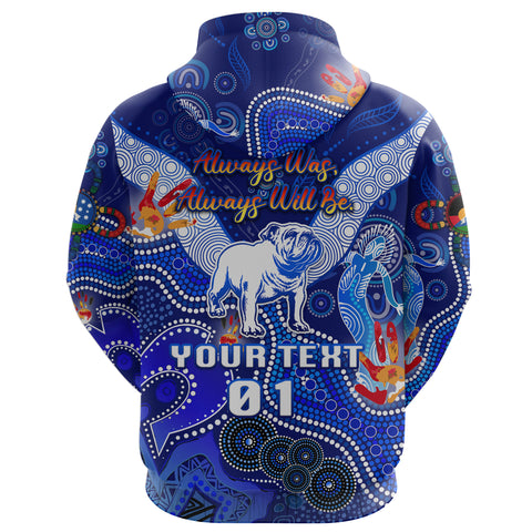 (Custom Personalised) Canterbury-Bankstown Bulldogs Hoodie Naidoc Heal Country! Heal Our Nation, Custom Text And Number K8