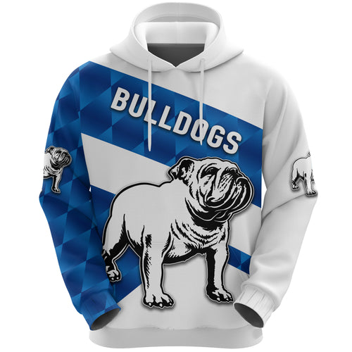 Bulldogs Hoodie Sporty Style