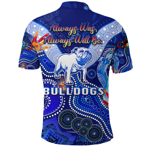Image of Canterbury-Bankstown Bulldogs Polo Shirt Naidoc Heal Country! Heal Our Nation K8