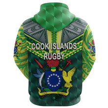 Load image into Gallery viewer, Cook Islands Rugby Hoodie K8