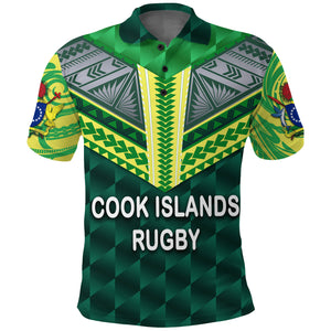Cook Islands Rugby Polo Shirt K8