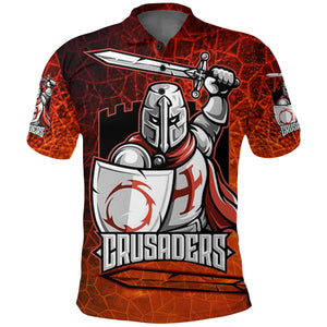 Crusaders Polo Shirt K4
