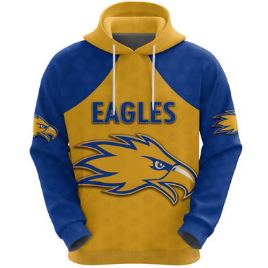 Eagles Hoodie West Coast - Gold