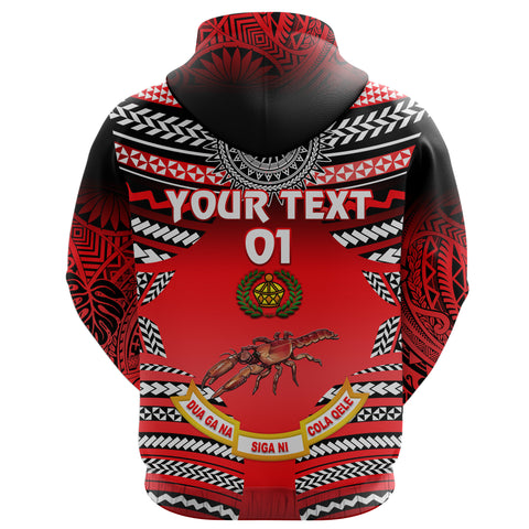 (Custom Personalised) Rewa Rugby Union Fiji Hoodie Creative Style, Custom Text And Number K8