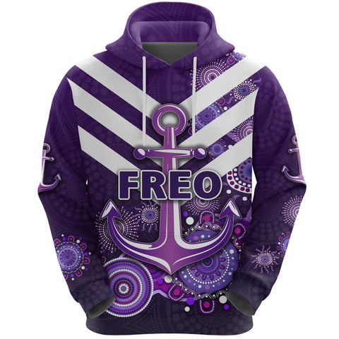 Image of Fremantle Hoodie Dockers Indigenous Freo