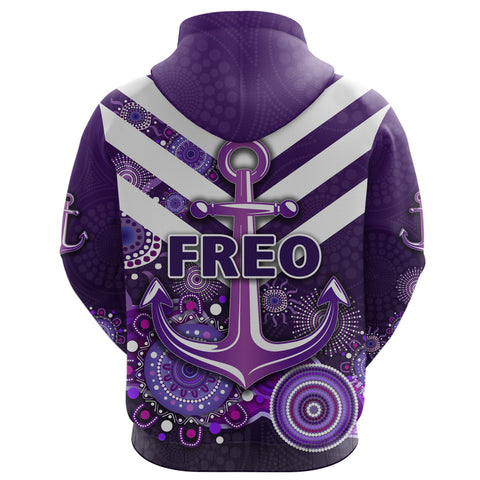 Image of Fremantle Hoodie Dockers Indigenous Freo K8