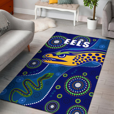 Eels Indigenous Special Area Rug | Rugbylife.co