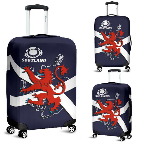 Scotland Rugby Luggage Covers Lion Rampant with Thistle 1