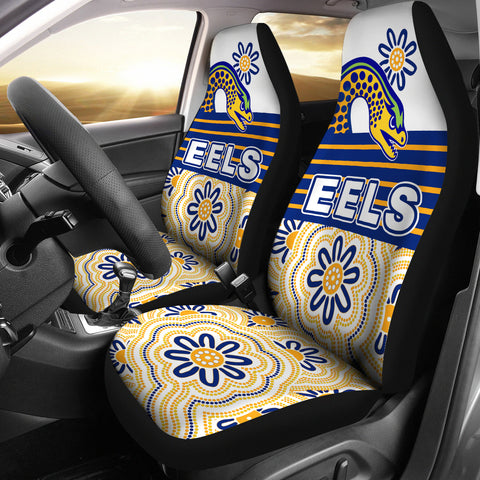 Eels Rugby Car Seat Covers Indigenous Parramatta Newest White 1 | Rugbylife.co