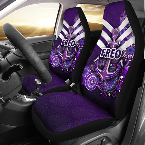 Fremantle Car Seat Covers Dockers Indigenous Freo K8
