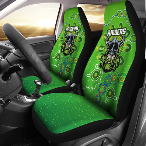 Naidoc Raiders Car Seat Covers Canberra Indigenous Style K36