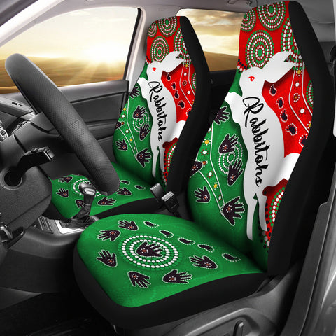 Rabbitohs Forever Car Seat Covers Indigenous K4