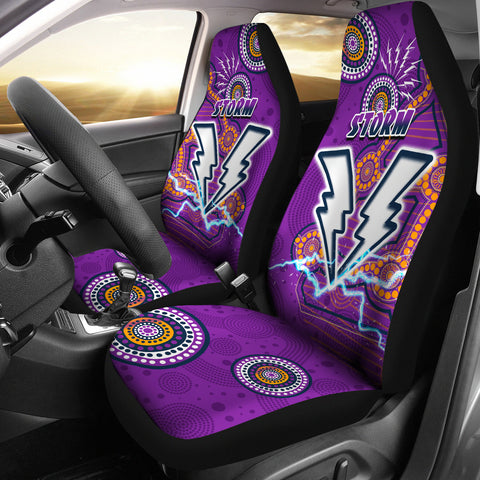 Storm Car Seat Covers Melbourne Indigenous Thunder 1 | Rugbylife.co