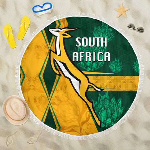 South Africa Beach Blanket Springboks Rugby Be Fancy